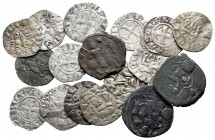 Lot of ca. 17 medieval coins / SOLD AS SEEN, NO RETURN!very fine