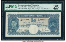 Australia Commonwealth of Australia 5 Pounds ND (1941) Pick 27b PMG Very Fine 25.   HID09801242017  © 2020 Heritage Auctions | All Rights Reserved