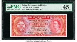 Belize Government of Belize 5 Dollars 1.1.1976 Pick 35b PMG Choice Extremely Fine 45.   HID09801242017  © 2020 Heritage Auctions | All Rights Reserved...