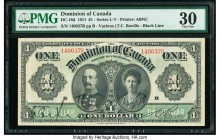 Canada Dominion of Canada $1 3.1.1911 DC-18d PMG Very Fine 30.   HID09801242017  © 2020 Heritage Auctions | All Rights Reserved
