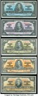 Canada $5; $10; $20; $50; $100 2.1.1937 Denominational Set of 5 Examples Extremely Fine-About Uncirculated.   HID09801242017  © 2020 Heritage Auctions...
