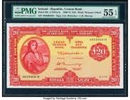 Ireland Central Bank of Ireland 20 Pounds 6.1.1975 Pick 67b PMG About Uncirculated 55 EPQ.   HID09801242017  © 2020 Heritage Auctions | All Rights Res...