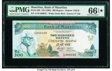 Mauritius Bank of Mauritius 200 Rupees ND (1985) Pick 39b PMG Gem Uncirculated 66 EPQ S.   HID09801242017  © 2020 Heritage Auctions | All Rights Reser...