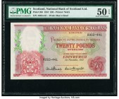 Scotland National Bank of Scotland Limited 20 Pounds 1.11.1957 Pick 263 PMG About Uncirculated 50 EPQ.   HID09801242017  © 2020 Heritage Auctions | Al...