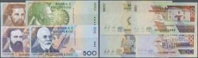 Albania / Albanien. Set of 4 notes containing 100, 200, 500 and 1000 Leke 1996 P. 62-65 all in condition: UNC. (4 pcs)
