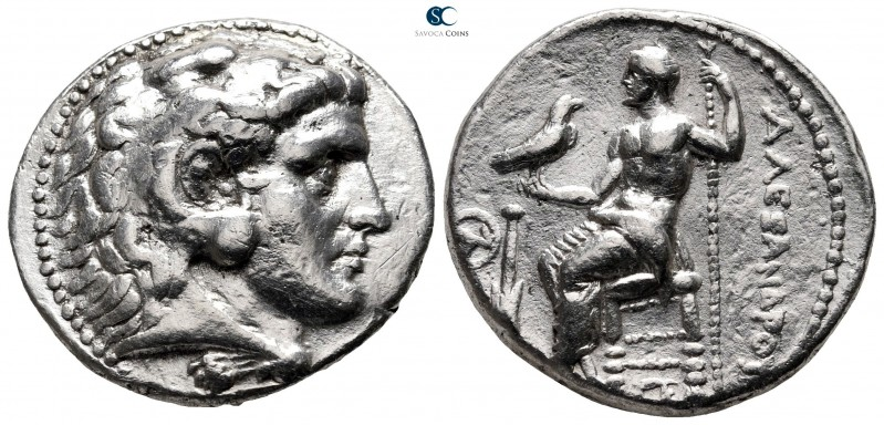 "Kings of Macedon. Salamis. Alexander III ""the Great"" 336-323 BC. Struck circa 31..."