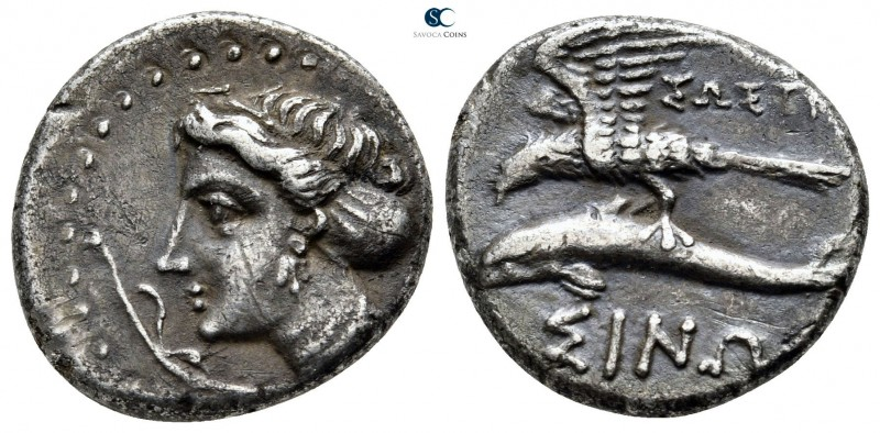 Paphlagonia. Sinope 330-300 BC. ΣΩΣΤΡΑ- (Sostra-), magistrate