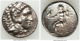 MACEDONIAN KINGDOM. Alexander III the Great (336-323 BC). AR tetradrachm (26mm, 16.92 gm, 3h). VF, smoothing. Posthumous issue of Sardes, ca. 319-315 ...
