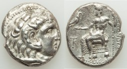 MACEDONIAN KINGDOM. Alexander III the Great (336-323 BC). AR tetradrachm (24mm, 16.88 gm, 1h). XF, porosity. Late lifetime to early posthumous issue o...