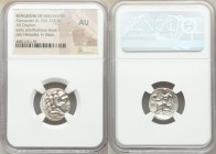 MACEDONIAN KINGDOM. Alexander III the Great (336-323 BC). AR drachm (18mm, 12h). NGC AU. Posthumous issue of Miletus, ca. 300-295 BC. Head of Heracles...