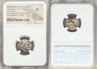 MACEDONIAN KINGDOM. Alexander III the Great (336-323 BC). AR drachm (17mm, 3h). NGC XF. Posthumous issue of Lampsacus, ca. 310-301 BC. Head of Heracle...