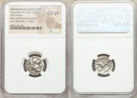 MACEDONIAN KINGDOM. Alexander III the Great (336-323 BC). AR drachm (16mm, 2h). NGC Choice VF. Early posthumous issues of Lampsacus, under Philip III ...