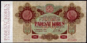 Czechoslovakia 50 Korun 1919 