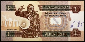 "Czech Republic 1 Kriak 2018 (ND) Specimen ""Branislav Jobus""