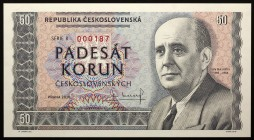 "Czech Republic 50 Korun 2018 Specimen ""Jan Masaryk""