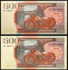 Czech Republic Lot of 2 Banknotes 2019 