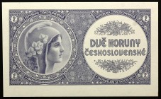Czech Republic 2 Koruny (ND) 