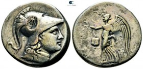 Pamphylia. Side  circa 205-100 BC. Tetradrachm AR
