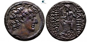 Seleukid Kingdom. Antioch on the Orontes or another eastern mint. Philip I Philadelphos 95-75 BC. Tetradrachm AR