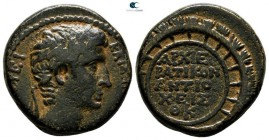 Seleucis and Pieria. Antioch. Augustus 27 BC-AD 14. Dated year 29 of the Actian Era = 3/2 BC. Bronze Æ