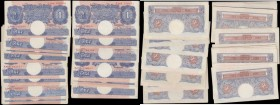 One Pounds Peppiatt Second Period WW2 Emergency issues B249 Blue/Pink Metal thread issued 1940 (70) an impressive amalgamation of these always desirab...
