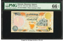 Bahrain Monetary Agency 20 Dinars 1973 (ND 1998) Pick 23 PMG Gem Uncirculated 66 EPQ.   HID09801242017  © 2020 Heritage Auctions | All Rights Reserved...