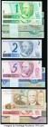 Brazil Banco Central Do Brasil Group Lot of 47 Examples Choice Crisp Uncirculated.   HID09801242017  © 2020 Heritage Auctions | All Rights Reserved