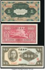 China Central Bank of China 500 Yuan 1944 Pick 267; Farmers Bank of China 10 Yuan 1940 Pick 464; Russo-Asiatic Bank 1 Ruble ND (1917) Pick S474a About...