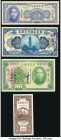 China Ho Pei Metropolitan Bank 6 Coppers 1938 Pick S1710K; Provincial Bank of Kwangtung Province 1 Dollar 1918 Pick 2401; Kwangtung Provincial Bank 5 ...