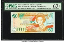 East Caribbean States Central Bank, Anguilla 50 Dollars ND (1994) Pick 34u PMG Superb Gem Unc 67 EPQ.   HID09801242017  © 2020 Heritage Auctions | All...