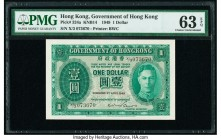 Hong Kong Government of Hong Kong 1 Dollar 9.4.1949 Pick 324a KNB14 PMG Choice Uncirculated 63 EPQ.   HID09801242017  © 2020 Heritage Auctions | All R...
