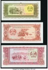 Lao People's Democratic Republic Bank of the Lao PDR 10; 20; 50 Kip ND (1979) Pick 27r; 28r; 29r Replacements Choice Crisp Uncirculated.   HID09801242...