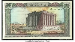 Lebanon Banque du Liban 50 Livres 1988 Pick 65d Pack of 100 Examples Crisp Uncirculated or Better.   HID09801242017  © 2020 Heritage Auctions | All Ri...