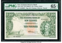 New Zealand Reserve Bank of New Zealand 10 Pounds ND (1960-67) Pick 161d PMG Gem Uncirculated 65 EPQ.   HID09801242017  © 2020 Heritage Auctions | All...