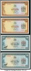 Rhodesia Reserve Bank of Rhodesia 5; 10 Dollars 1978; 1979 Pick 36b; 41a Group of 4 Examples Choice Uncirculated or Better.   HID09801242017  © 2020 H...