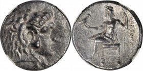 MACEDON. Kingdom of Macedon. Alexander III (the Great), 336-323 B.C. AR Tetradrachm, Arados Mint, Posthumous issue under Ptolemy I Soter, ca. 320/19-3...