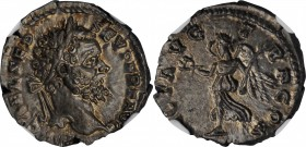 JULIA DOMNA (WIFE OF SEPTIMIUS SEVERUS). AR Denarius (3.66 gms), Rome Mint, A.D. 193-194. NGC Ch MS, Strike: 4/5 Surface: 5/5.