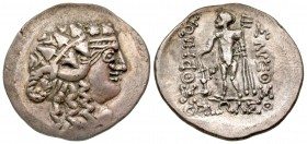 Eastern Europe, Imitating Thasos. Late 2nd-1st centuries B.C. AR tetradrachm.