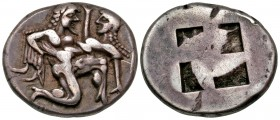 Islands off Thrace, Thasos. Thasos. Ca. 500-463 B.C. AR stater. Ex Bt. Spink, 15 October 2007, ᆪ625.