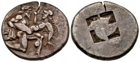 Islands off Thrace, Thasos. Thasos. Ca. 500-463 B.C. AR stater. Ex CNG, electronic auction 185, lot 22.