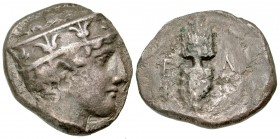 Elis, Olympia. 95th Olympiad. 400 B.C. AR stater. Hera mint. Ex Hanberry Collection; Ex Ganz.
