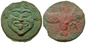Skythia, Olbia. Late 5th-4th century B.C Cast AE 70. Rare.