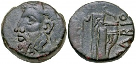 Skythia, Olbia. civic issue. Ca. 310-280 B.C. AE 21.