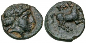Troas, Gargara. civic issue. 400-284 B.C. AE 9.