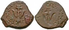 Judaea, Hasmonean Kingdom. Alexander Jannaeus. 103-76 B.C.E. AE prutah. Jerusalem mint. From the Nussbaum Collection, NY.