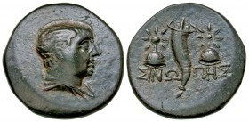 Paphlagonia, Sinope. Mithradates VI. 120-100 B.C. AE 19. anonymous civic issue under Mithradates VI, Eupator.
