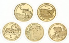 Belarus Lot of 6 coins 2006. Belarusian National Parks and Nature Reserves