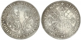 Germany Thaler 1539 Georg von Ansbach and Albrecht the Young