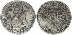 Germany Thaler 1549 Albrecht Alcibiades of Bayreuth