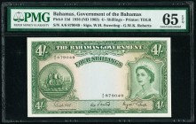 Bahamas Bahamas Government 4 Shillings 1936 (ND 1963) Pick 13d PMG Gem Uncirculated 65 EPQ.   HID09801242017  © 2020 Heritage Auctions | All Rights Re...